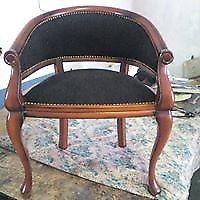 trabajos de lustres, restauración, tapizados, carpintería