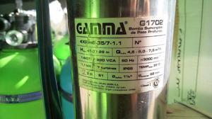Bomba Sumergible Gamma + Controladora