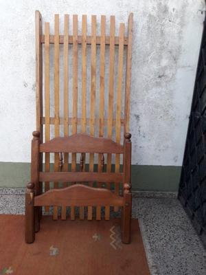 CAMA DE 1 PLAZA DE ALGARROBO. OFERTA