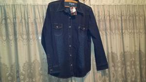 Camisa de Jean de mujer nueva!