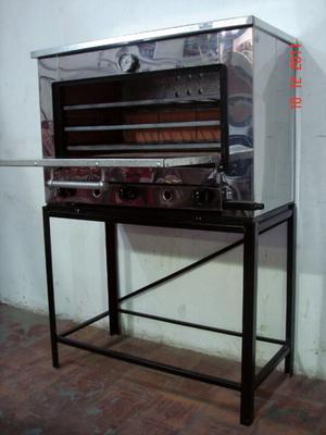 Horno Pastelero de 6 moldes con base