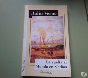 LIBRO LA VUELTA AL MUNDO EN 80 DÍAS !!