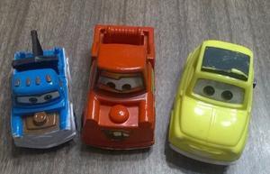 Lote Autitos Plasticos De Cars.