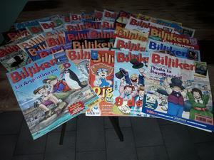 Lote de revistas billiken