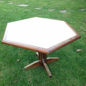 Mesa de comedor moderna posot class for Comedor hexagonal