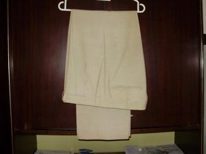 Pantalon poliester y fibra Talle 44
