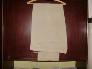 Pantalon poliester y fibra Talle 46