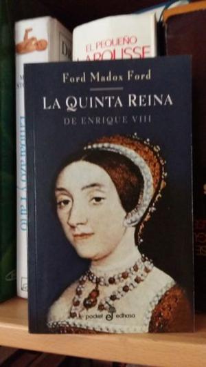 """VENDO EL LIBRO """"LA QUINTA REINA, DE ENRIQUE VIII"""" (NUEVO)"""