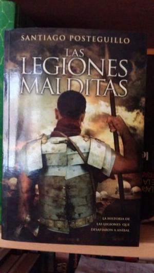 """VENDO EL LIBRO """"LAS LEGIONES MALDITAS"""" DE SANTIAGO"""