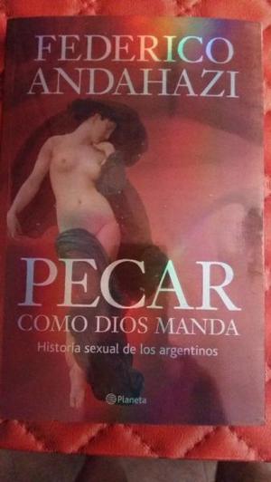 """VENDO EL LIBRO """"PECAR COMO DIOS MANDA"""" (NUEVO)"""