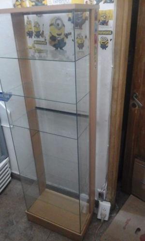 Vendo mueble excibidor de vidrio en perfecto estado.