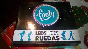 Zapatillas FOOTY LED shoes con RUEDAS