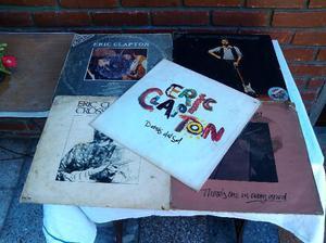 rock eric claptom lote de 5 discos muy buenos