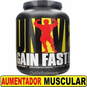 -20% Gain Fast Universal Usa 2.3 Kgs Gandador Muscular Dieta