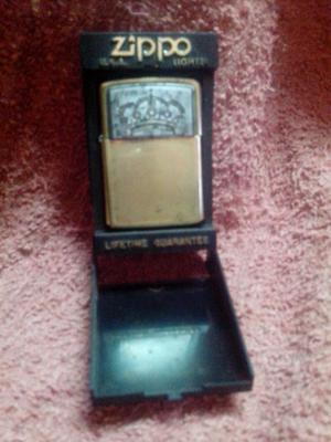 Encendedor antiguo zippo en su caja original
