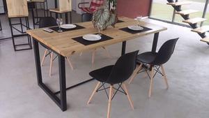 Mesa baja estilo industrial nueva a estrenar posot class for Mesa comedor estilo industrial