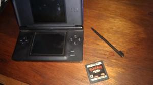 Nintendo Ds Lite Azul Practicamente Impecable + Un Juego