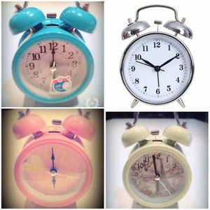 Reloj Despertador Con Campana Shabby Chic Retro Vintage