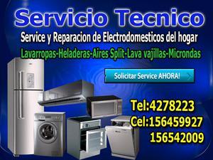Servicio tecnico de electrodomésticos