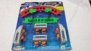 Set de tren con accesorios