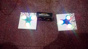 Spinner con luz nuevo en caja