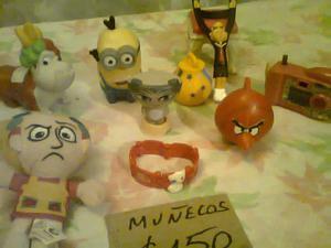 VENDO MUÑECOS ORIGINALES Y JUEGO DE LA OCA