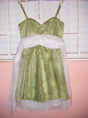 Vendo vestido de fiesta, 1 solo uso, impecable