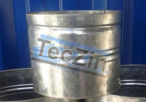 maceta de zinc - fabricación propia