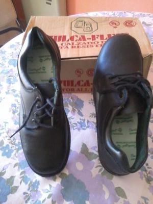 vendo zapatos de seguridad nuevos vulcaflex con puntera de