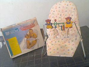 Asiento Mecedora Para Bebé Marca Genesis