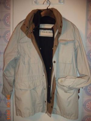 Campera New Man con abrigo desmontable Talle M (holgada)