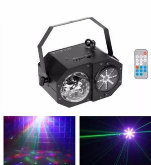 Efecto Madbox Laser Led Rgbw Strobo 3 En 1 Tecno Cooler