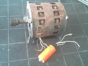 Motor Lavarropas Automático De 5 Cables Con Capacitor