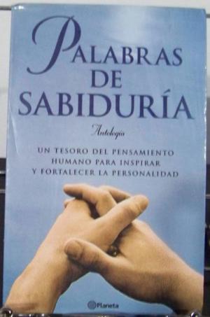 Palabras de sabiduría, Antología, Editorial Planeta