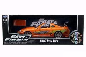 Rapido Y Furioso Autos A Escala 1:24 Toyota Supra