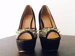 Zapatos Sweet Shoes con púas delanteras