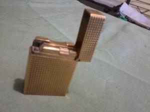 encendedor dupont, oro