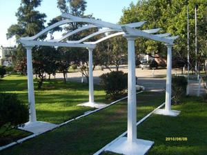 pergolas de cemento para exterior 3x3