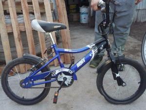 vendo bicicleta para nene rodado 16! excelente estado!