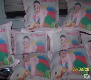 Almohadones personalizados (sublimados con la imagen-foto a