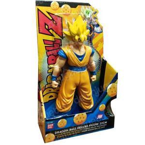 Dragon Ball Z Super Saiyan Goku Deluxe Muñeco Bandai 22cm