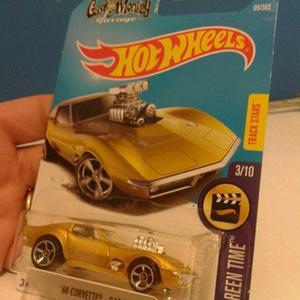 Hotwheels de Gas monkey - Chevrolet Corvette - limitado