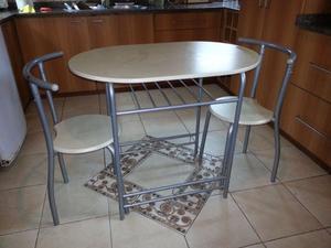 Juego comedor esquinero rinconero desayunador mesa posot for Mesa desayunador