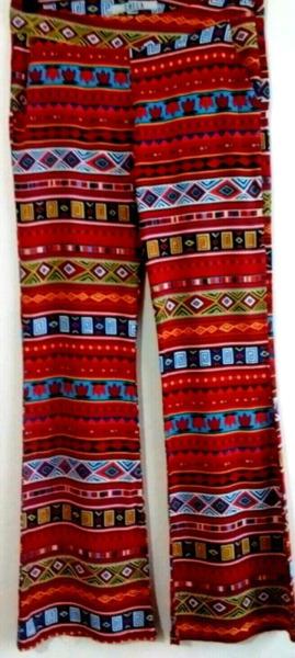 Pantalón de fibrana CHECA