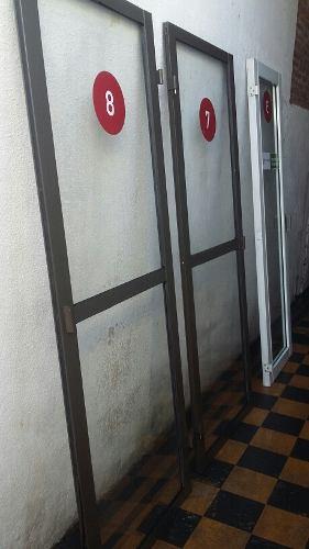 Puertas Para Locutorio De Aluminio Blanco