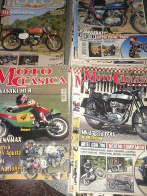 Revistas de motos clásicas y antiguas
