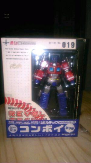Revoltech Transformers Optimus Prime de la marca Kaiyodo
