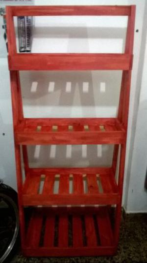 Se vende estantería de madera varios usos