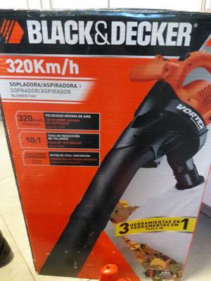 Sopladora aspiradora Black Decker Bv