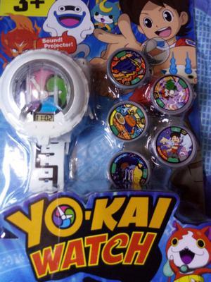 Yokai Watch Reloj Con Luz Y Sonido
